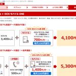 【OCN光】料金プラン・特典内容・申し込み手続き